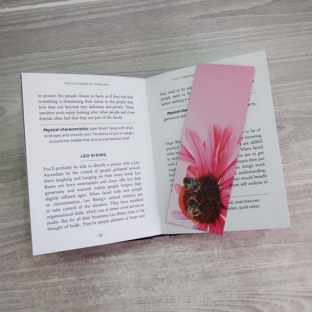 bumblebee bookmark
