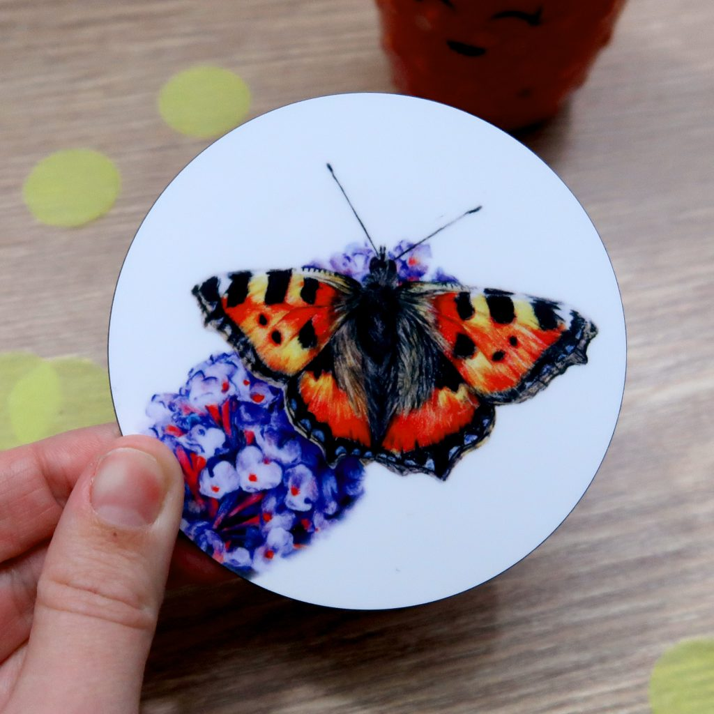 Butterfly Coaster | Insect Coaster | Coaster