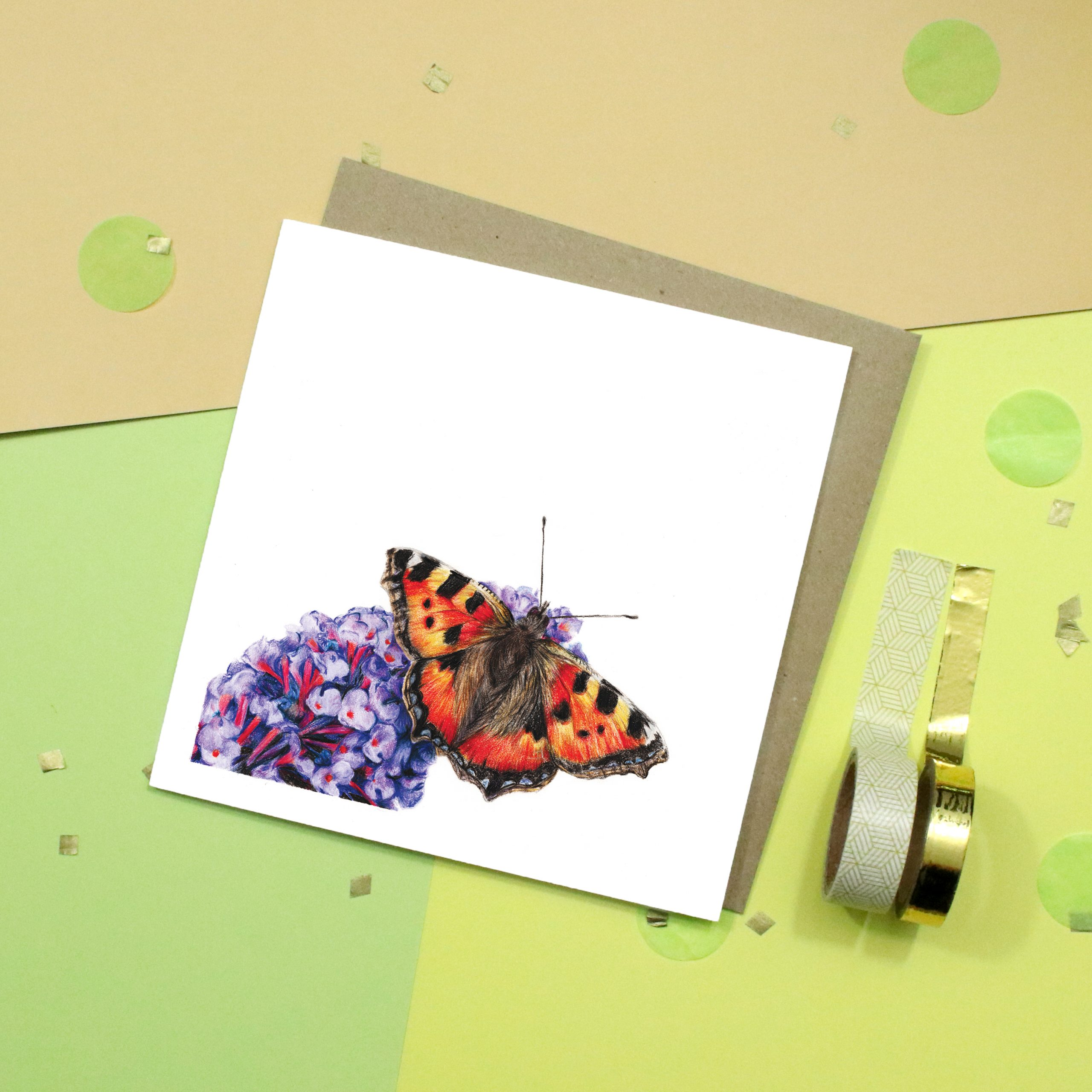 Butterfly Card | Insect Card | Wildlife Card